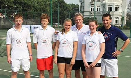 Bjorn Borg at the Sporting Exchange Programme