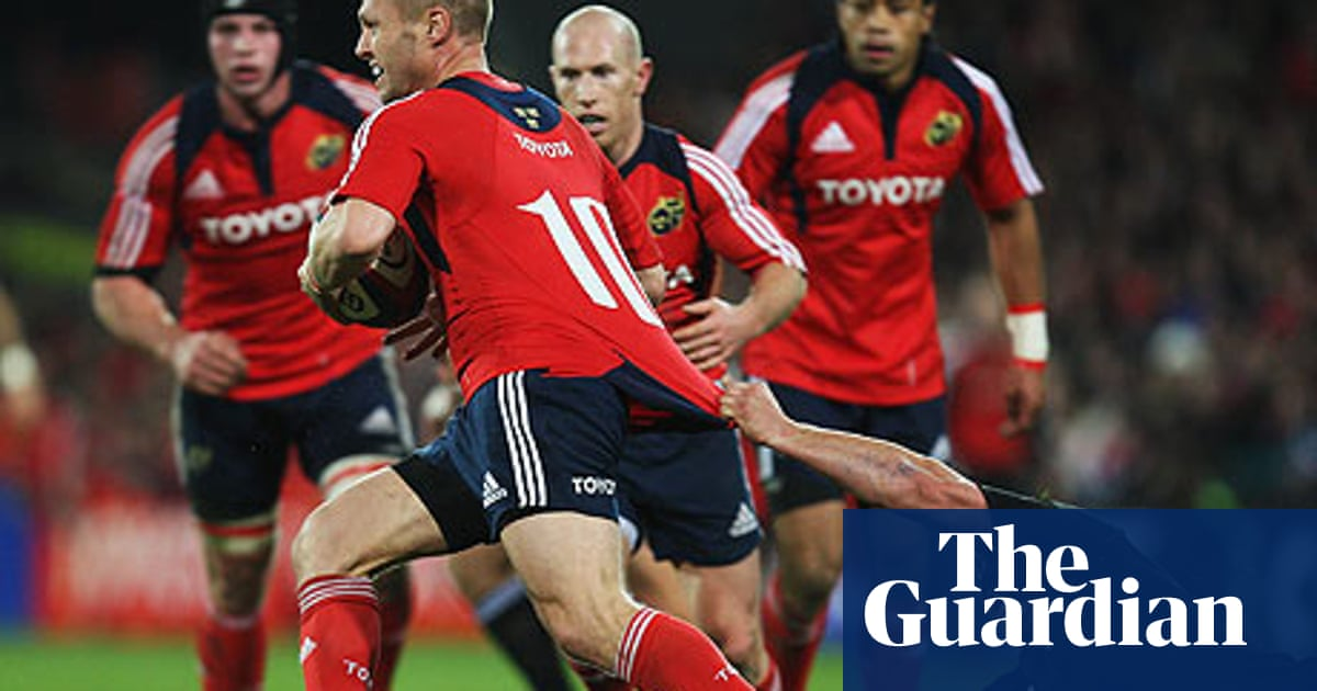 Munster Come Within Minutes Of A Miracle New Zealand Rugby Union Team The Guardian
