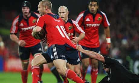 Munster v New Zealand