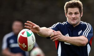 New Zealand All Blacks captain Richie McCaw