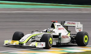 Jenson Button wins the Formula One world title