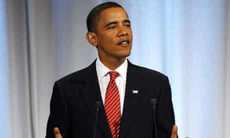Barack Obama addresses the International Olympic Committee in Copenhagen