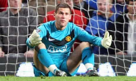 Ben Foster was at fault for Sunderland's second goal at Old Trafford on Saturday.