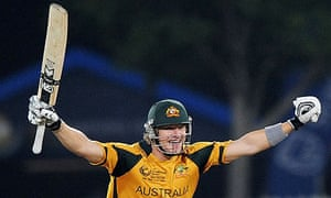 Shane Watson Finds Victory For Australia Elementary