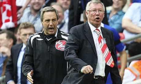 Sir Alex Ferguson and Alan Wiley