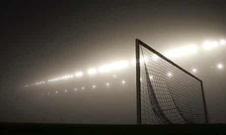 Football and fog