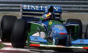 Michael Schumachers 1994 Title Winning Benetton For Sale On EBay