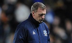 David Moyes Everton v Hull