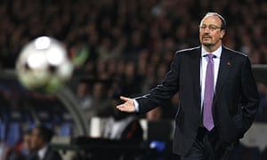 Rafael Benítez could not inspire Liverpool to victory against Lyon