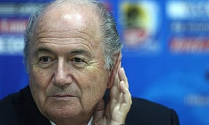 Sepp Blatter told reporters about Ireland's request to be the 33rd team at the World Cup