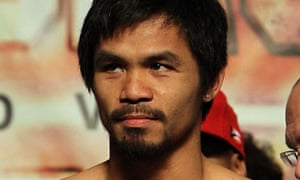 Manny Pacquiao, the boxer