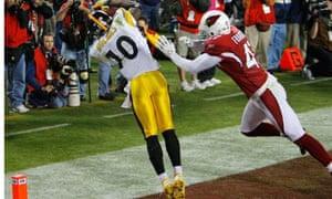 Santnio Holmes makes the winning touchdown