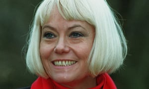 Actress Wendy Richards, famous for playing Pauline Fowler in Eastenders