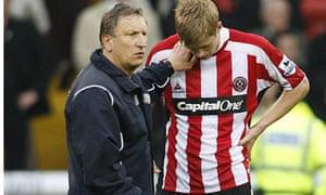 Neil Warnock consoles Jon Stead
