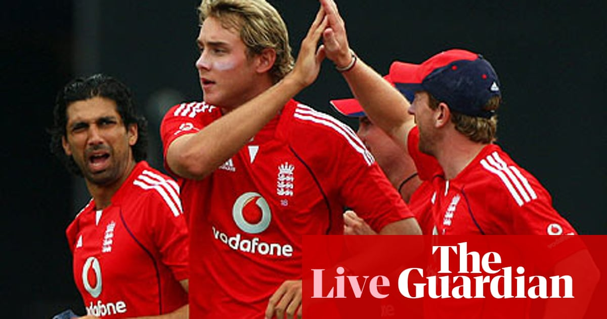 Cricket: West Indies v England live over-by-over-report