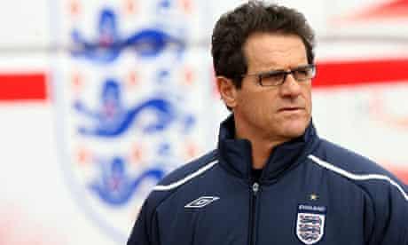 England's manager Fabio Capello