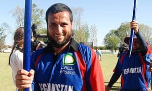 Afghanistan player Ahmad Shah