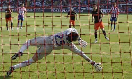 David Villa, Valencia CF vs Sporting Gijon