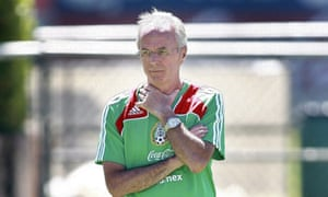 Sven-Goran Eriksson has been dismissed as Mexico manager.