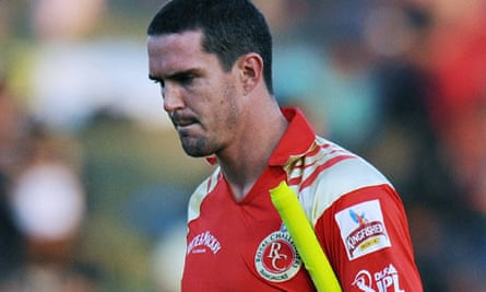 England cricketer Kevin Pietersen of Bangalore Royal Challengers