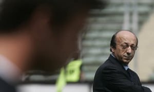 Luciano Moggi, former manager of Juventus