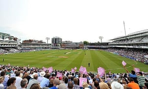 A general view of Lord's during the Twenty20 Cup match between Middlesex and Surrey