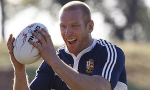 Lions captain Paul O'Connell in practice