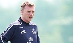 David Moyes, the Everton manager