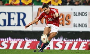 James Hook for Brian O'Driscoll column on Western Province v British & Irish Lions