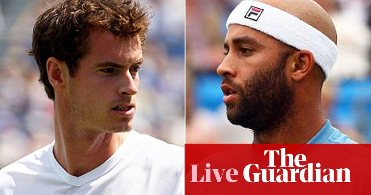 Andy Murray V James Blake As It Happened Sport The Guardian