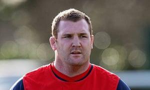 England prop Tim Payne