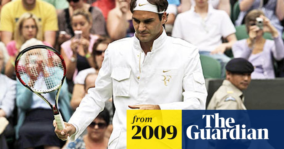 With Military Styling Roger Federer Mounts Latest Assault On Wimbledon Fashion Sport The Guardian