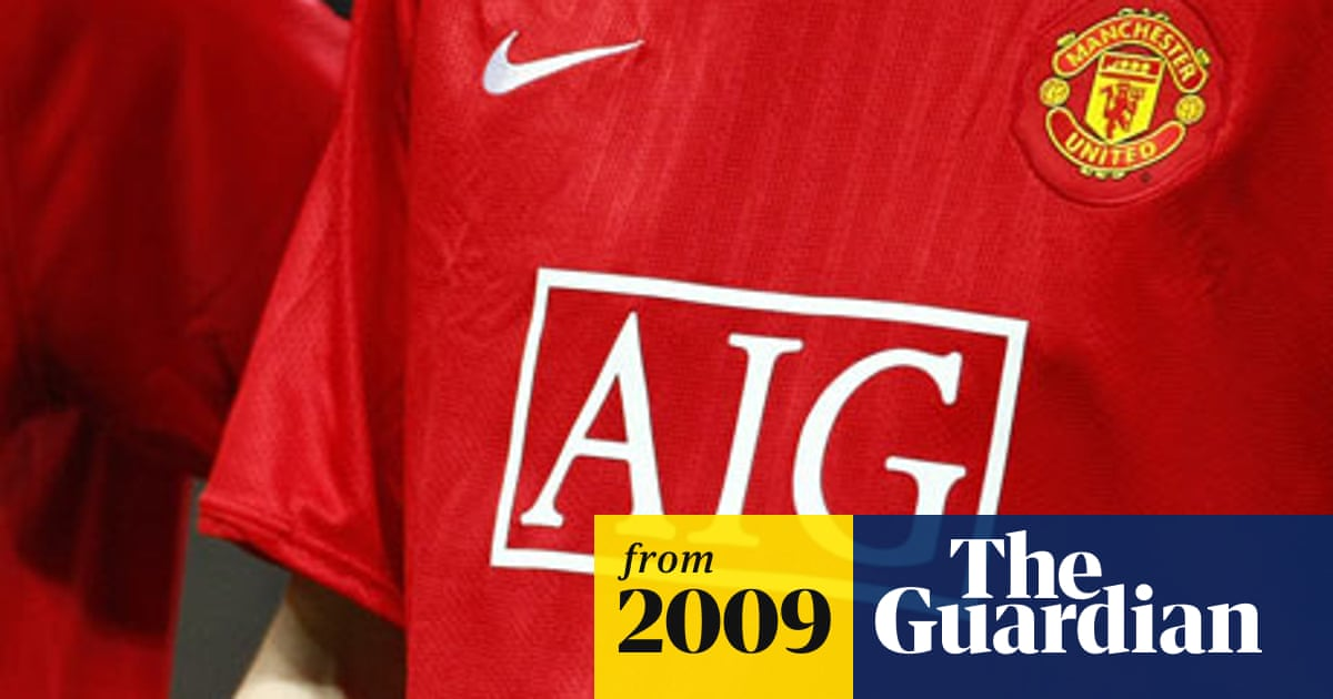 best service a57eb b9244 Manchester United name Aon Corp as new £80m shirt sponsors ...