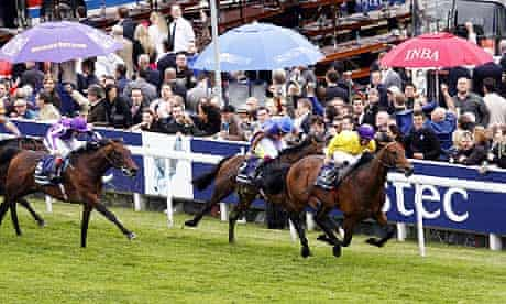 Sea The Stars wins the Derby