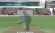 England's bowling to Micheal Clarke