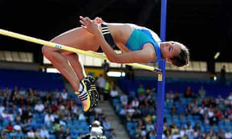 Jessic Ennis at British athletics titles
