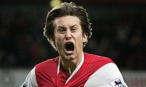 Thomas Rosicky of Arsenal
