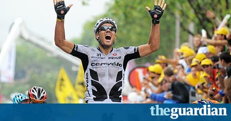 Thor Hushovd wins sixth stage of Tour de France | Sport | The Guardian