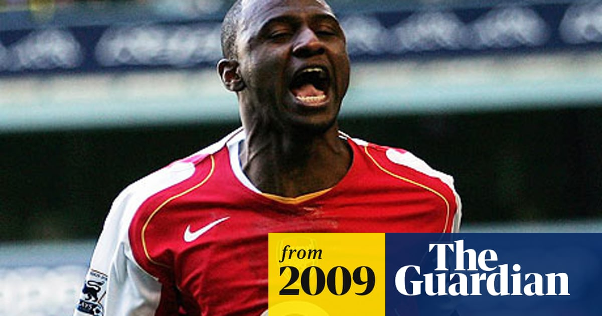 huge selection of 8eea8 3ad6a Vieira needs games for France recall, says Domenech ...