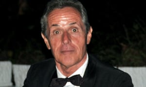 John Terry, a British honorary consul in Jamaica, at a function in April