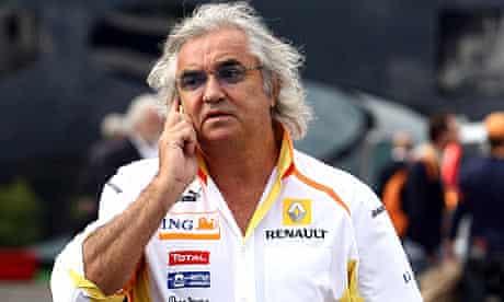 Formula One Italian Grand Prix Monza Flavio Briatore