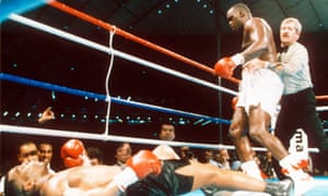 James 'Buster' Douglas and Mike Tyson