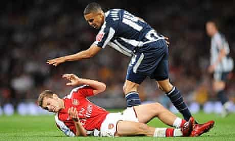 Soccer - Carling Cup - Third Round - Arsenal v West Bromwiich Albion - Emirates Stadium
