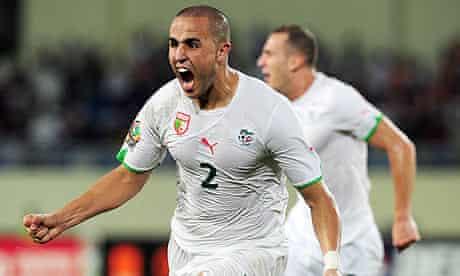 Madjid Bougherra: Ivory Coast vs Algeria