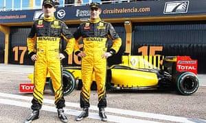 Robert Kubica, Vitaly Petrov, Renault