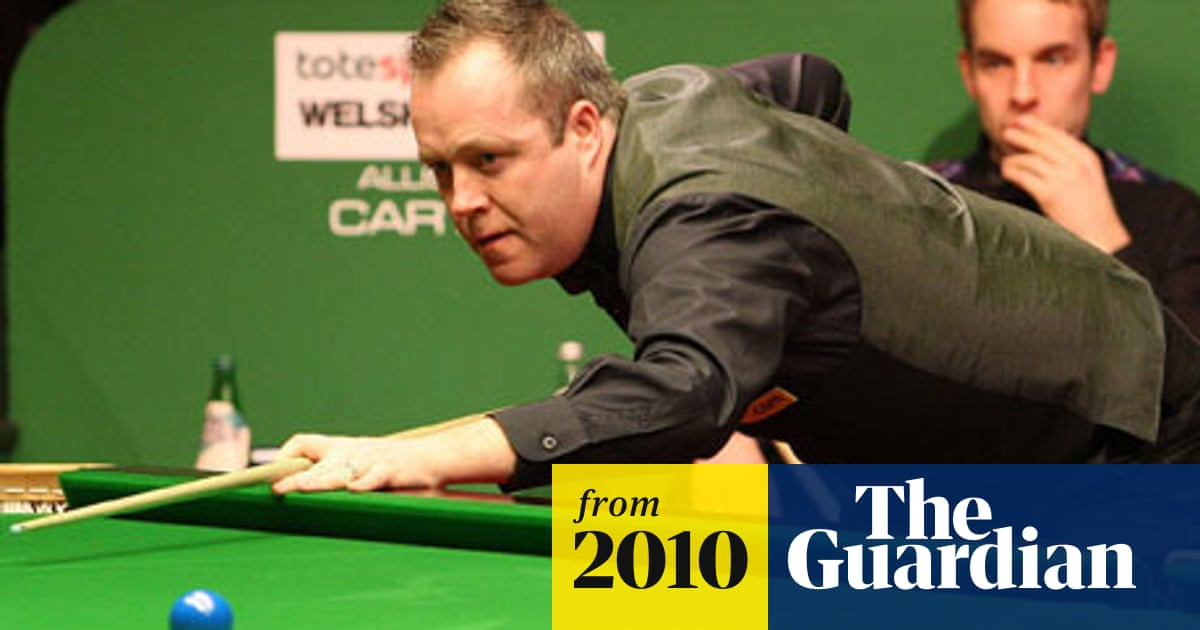 John Higgins Captures Welsh Open Snooker The Guardian