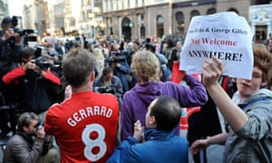Liverpool FC fans at high court