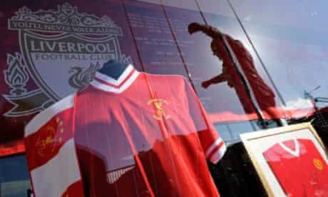 Liverpool F.C. shirts