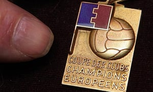 George Best's European Cup winner's medal from 1968