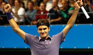 Switzerland's Federer